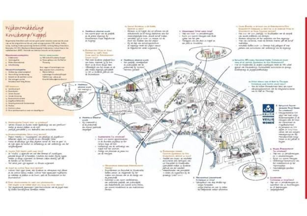 Plattegrond Kruiskamp Koppel Amersfoort projecten Grote Stedenbeleid