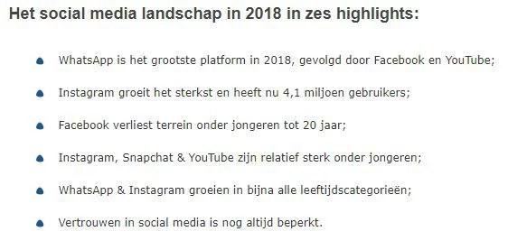 Social Media Landschap (Newcom)