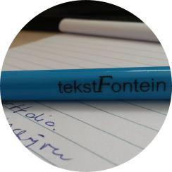 tekstfontein pen 3