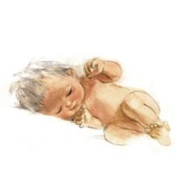 Geboortekaartje zonder tekst