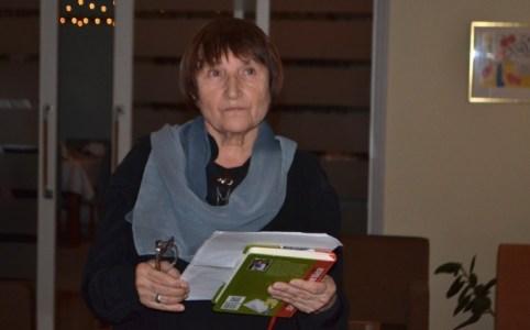 Галина Кирпа під час вручення Ордену Полярної зірки 19 грудня 2019 року