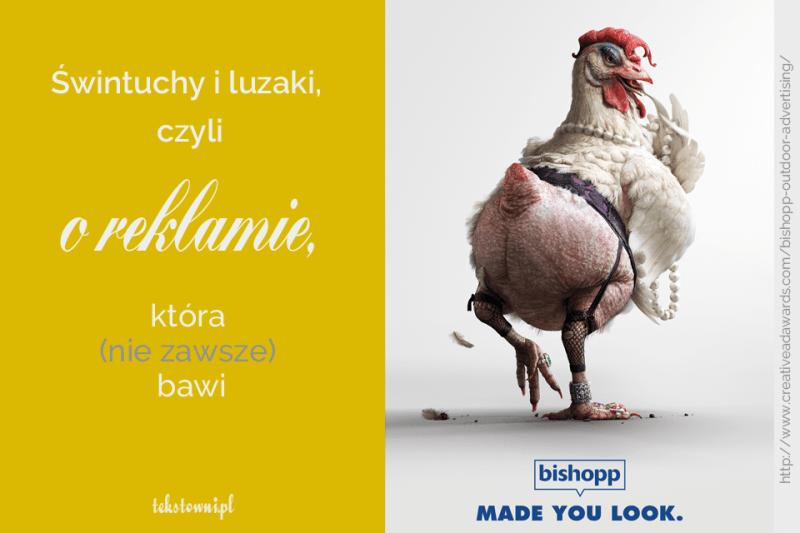 humor w reklamie, Świntuchy iluzaki, czyli oreklamie, która(niezawsze) bawi, Tekstowni.pl