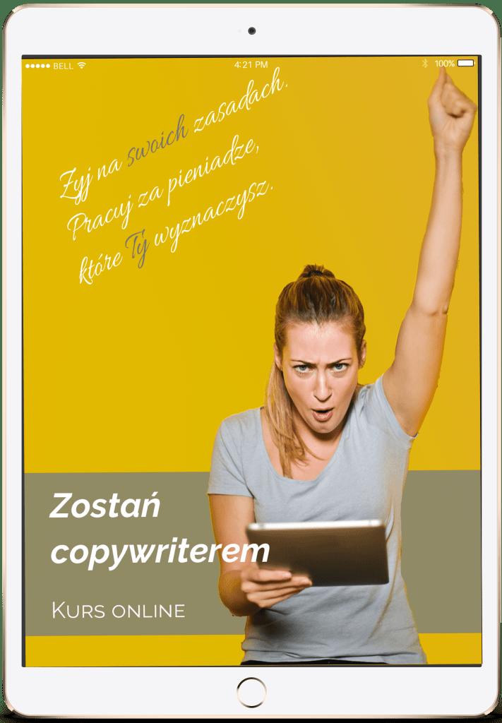 "kurs copywritingu, Kurs copywritingu ""Zostań copywriterem"", Tekstowni.pl"