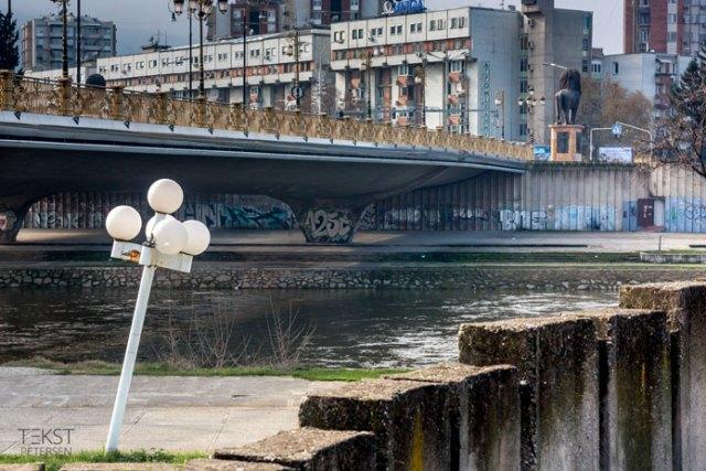 Goce Delcev-broen, Skopje