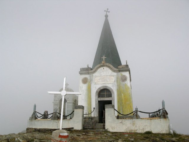 Kapellet på Kaimakchalan.