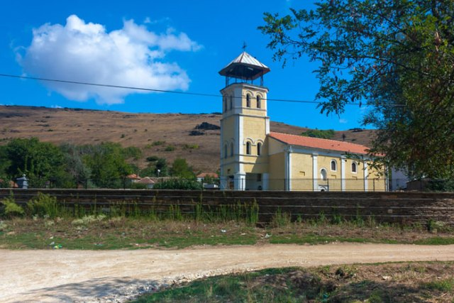 Kirken i Topolchani (Тополчани), Makedonien