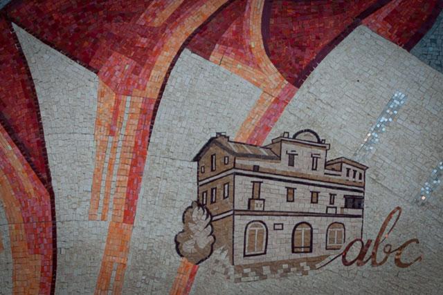 Skanderbeg-pladsen, Alfabetets Hus, Skopje, Republikken Makedonien