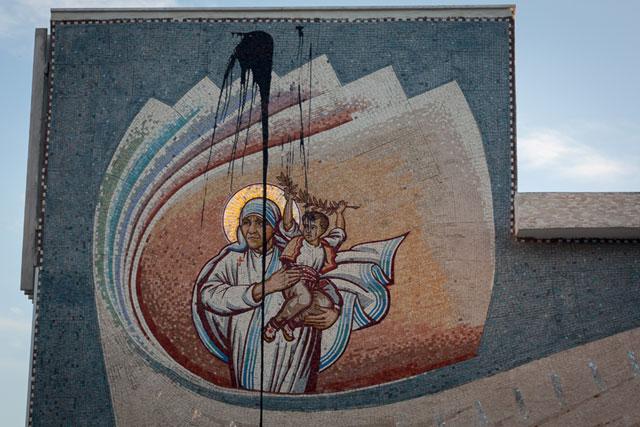 Skanderbeg-pladsen, Mother Teresa, Skopje, Republikken Makedonien