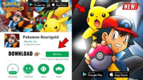 Pokemon HeartGold Android Game + Emulator Link