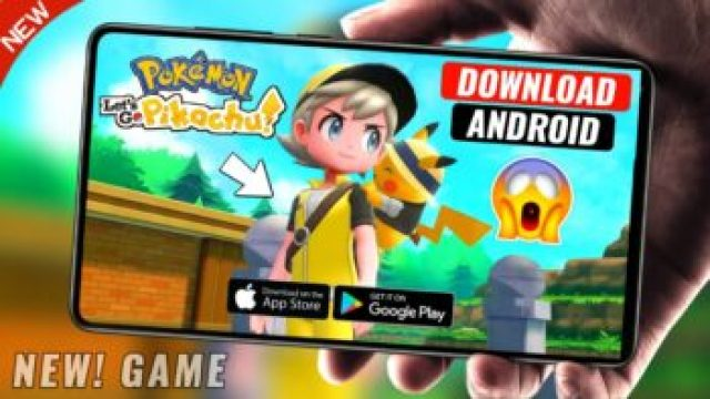 Pokemon Lets Go Pikachu Game For Android - New Pokemon Game 2020