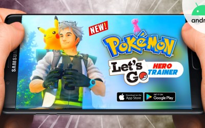 Pokemon Hero Trainer Let's GO Apk Download - New Pokemon Game For Android
