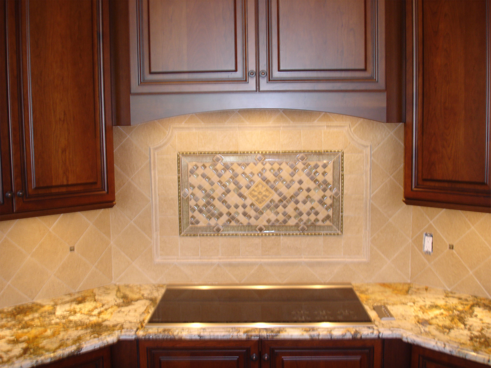 glass kitchen backsplash floor tile