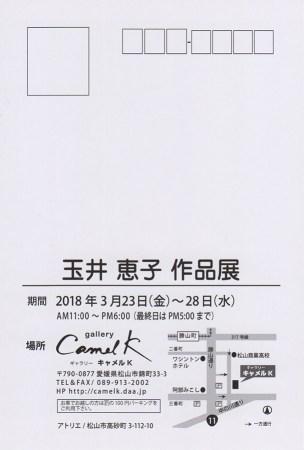玉井恵子 作品展