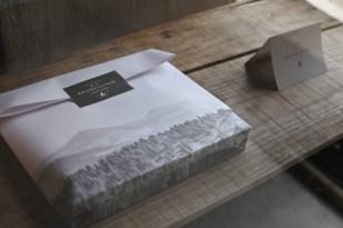 お土産やプレゼントの場合には、バームクーヘン専用の素敵なパッケージもあります(有料)