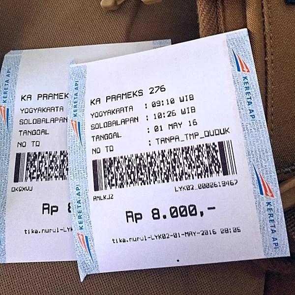 ※Prameksの切符(座席指定や車両のグレードはない)