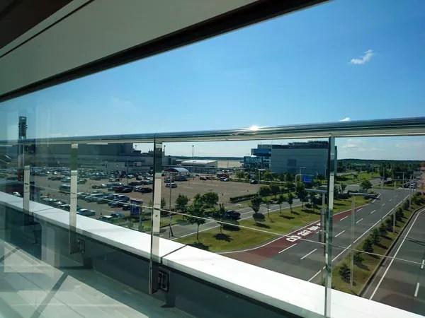 ※国際線ターミナルから国内線に隣接する空港駐車場