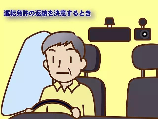 運転免許証を返納する事は、マイカーを手放すこと。