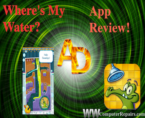 Where's My Water? – App Review – Application Domination