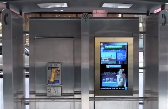 Smart Screens Will Replace Pay Phones In NYC