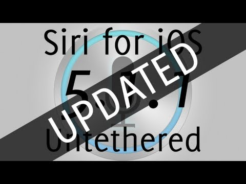 Simplified Siri for iOS 5.1.1 Untethered Jailbreak