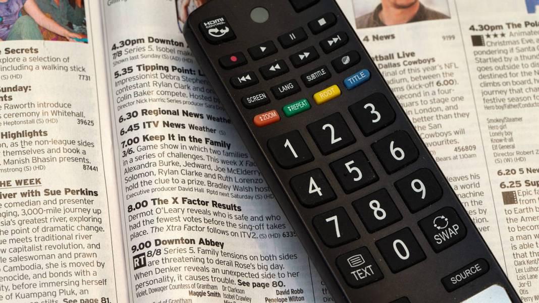 control de tv
