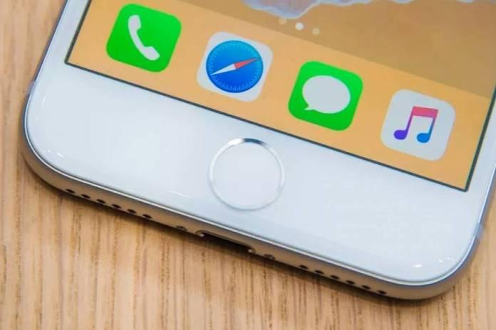 parte inferior del Iphone 8