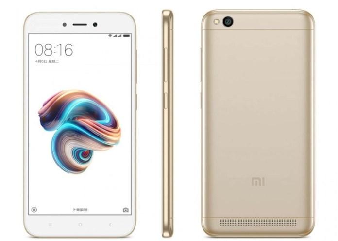 Xiaomi-Redmi-5A-Champagne-Gold