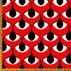 tejidos de color rojo