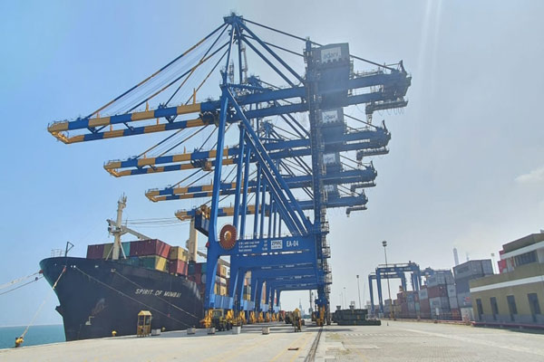 Business News - Adani Group Gets Gangavaram Port In Andhra