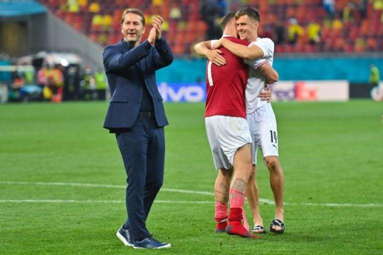 Austria beats Ukraine 1-0 to advance at Euro 2020