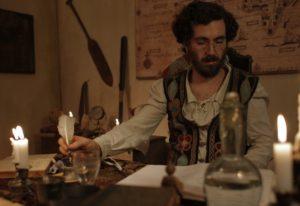 Leonardo Pereira como o personagem-título