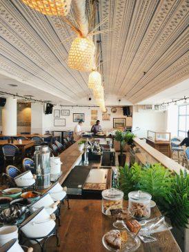 buffet breakfast in tel aviv
