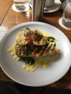eggs benedict - Tokyo
