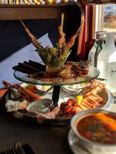 Ravintola Merimakasiini helsinki platter