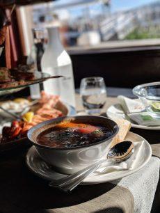 Ravintola Merimakasiini helsinki bouillabaisse