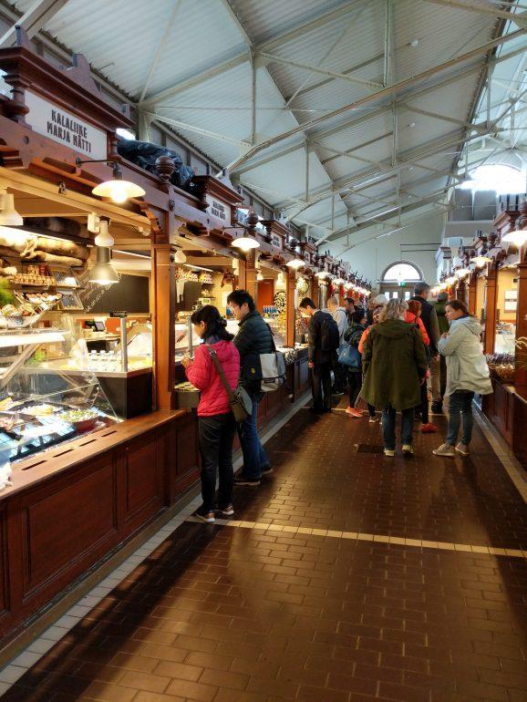 Old market Hall Helsinki