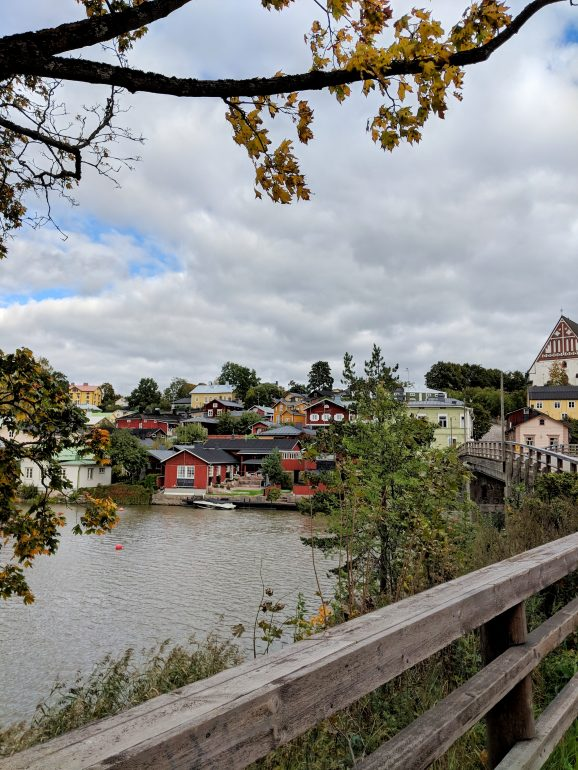 Porvoo old town finland