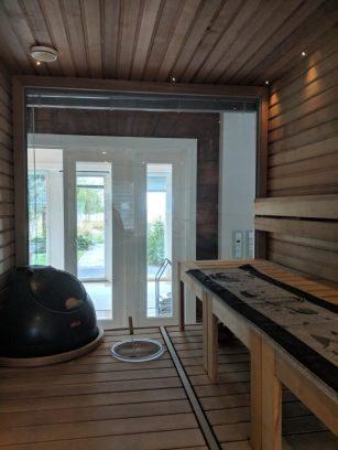 airbnb cabin villa in finland sauna