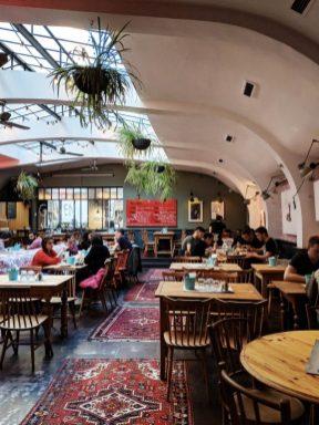 most bisztro budapest interior