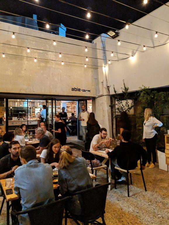 abie new restaurant in tel aviv