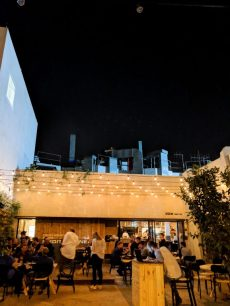 abie best restaurant in tel aviv outdoor bar