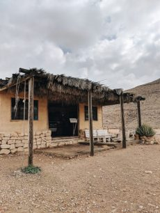 desert capsule hotel cabin israel