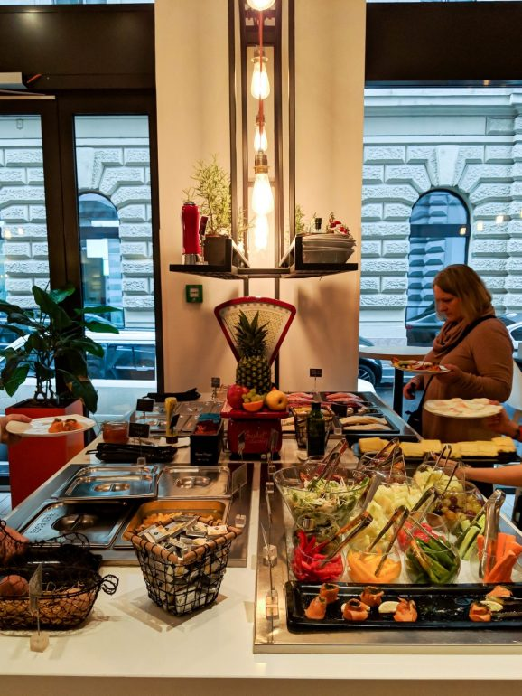 hotel moments budapest breakfast