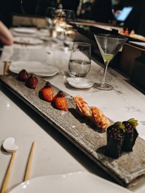 The Dinings Japanese restaurant Tel Aviv sushi