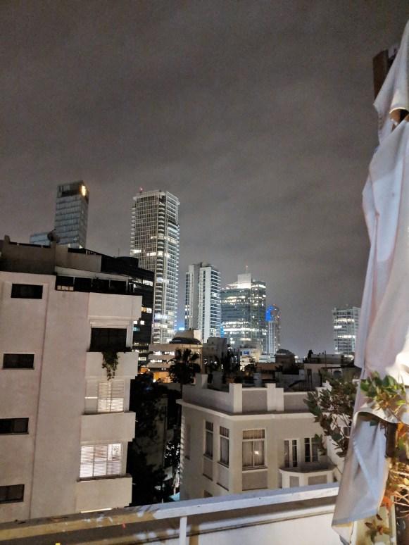 The Dinings Japanese restaurant Norman hotel Tel Aviv view