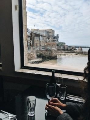 helena restaurant at Caesarea harbor