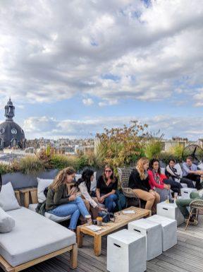 Hôtel National Des Arts et Métiers - rooftop bar