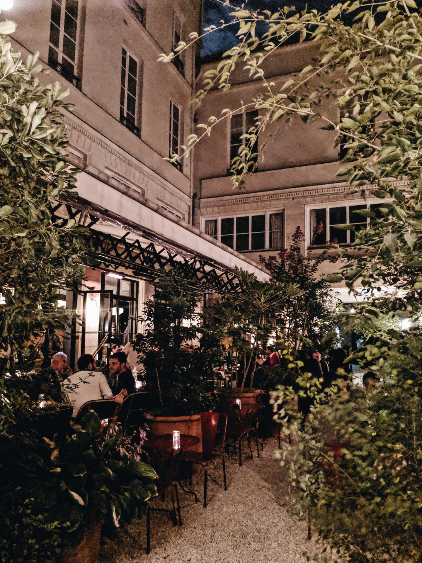 Bambou restaurant Paris