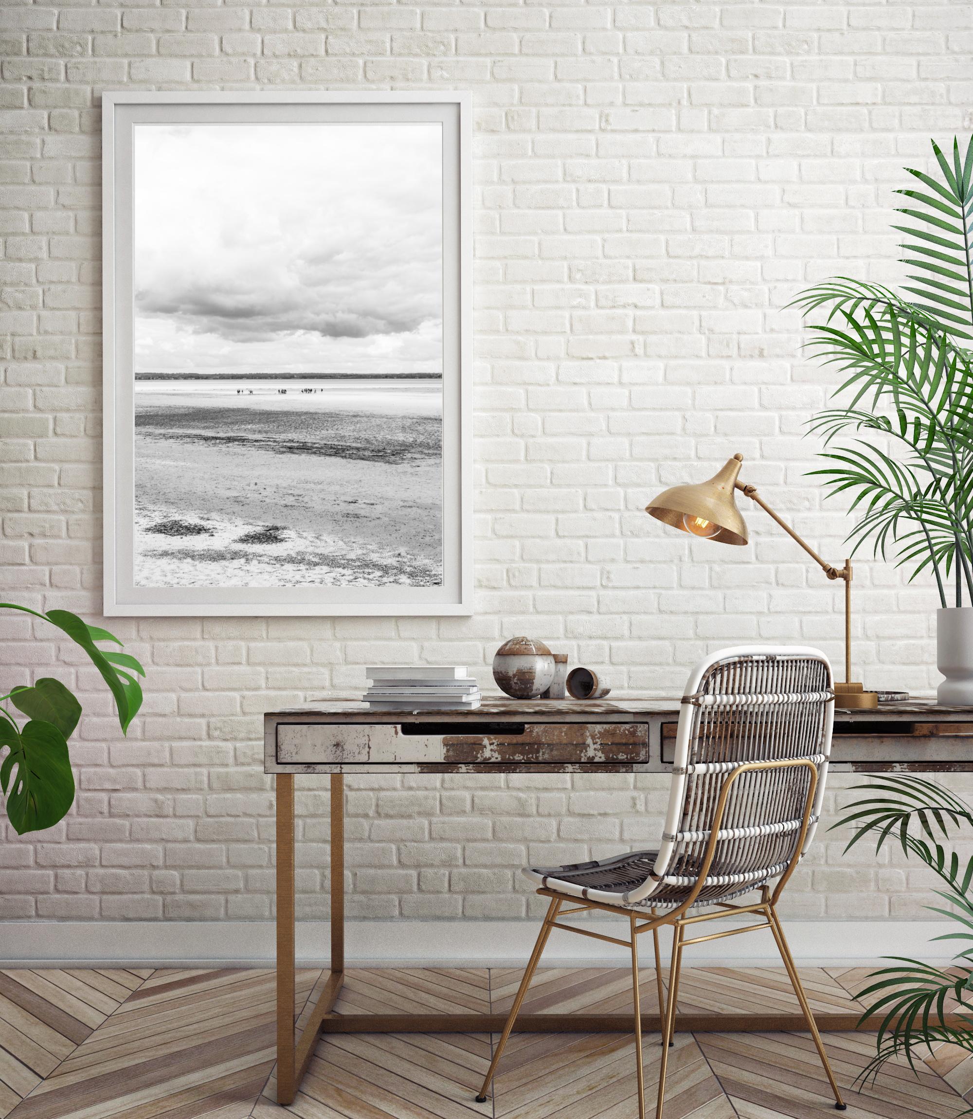 low tide wall print
