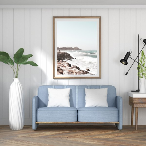 tel aviv jaffa port wall print